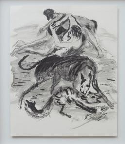 Grafito sobre papel, 42x35cm, 2019