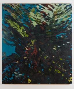 Óleo y cera sobre tela, 160x140cm, 2019
